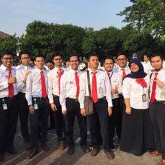 Photo taken at Kantor Pusat PT Pertamina (Persero) by Herlambang E. on 8/17/2015