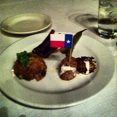 Photo taken at Lonesome Dove Western Bistro by Anthony G. on 9/30/2012