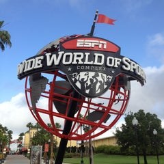 Photo taken at ESPN Wide World of Sports by Alexandre W. on 5/3/2013