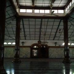 "Photo taken at Masjid Agung ""DARUSSALAM"" Bojonegoro by ROHMAT on 8/20/2013"