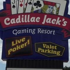 Photo taken at Cadillac Jacks Gaming Resort by Michele H. on 8/6/2013