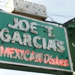 Photo taken at Joe T. Garcia's by Charles G. on 1/7/2013