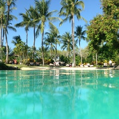 Photo taken at The Laguna, a Luxury Collection Resort & Spa, Nusa Dua, Bali by popo p. on 9/23/2013