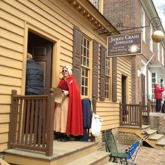 Photo taken at James Craig Jeweller at Colonial Williamsburg by Tanika M. on 3/27/2013