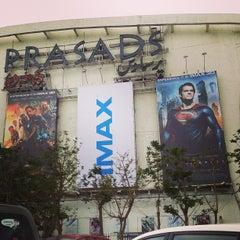 Photo taken at Prasad's IMAX by Kalidas C. on 6/8/2013