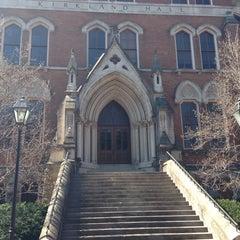 Photo taken at Kirkland Hall - Vanderbilt by Amber G. on 3/7/2014