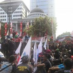 Photo taken at Mahkamah Konstitusi by M Kahar A Palinrungi on 8/15/2014