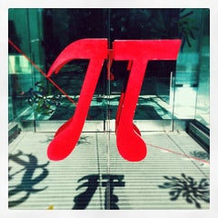 Photo taken at Museum of Mathematics (MoMath) by Steve M. on 3/14/2014