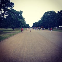 Photo taken at Hyde Park by Kenneth kong L. on 8/4/2013