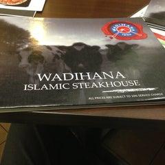 Photo taken at Wadihana Islamic Steakhouse by Ben Nurudin J. on 4/17/2013