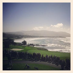 Photo taken at Pebble Beach Golf Links by Thoth N. on 2/9/2013