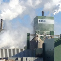 Photo taken at Sappi Fine Paper Cloquet Mill by Cindy P. on 2/19/2013
