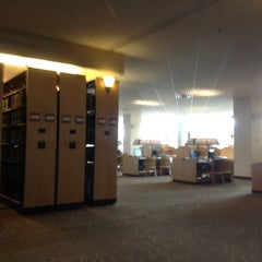 Photo taken at CMU Park Library by 👑 JoAnne R. on 1/21/2013