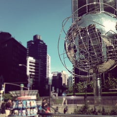 Photo taken at Columbus Circle by Alina L. on 9/20/2012