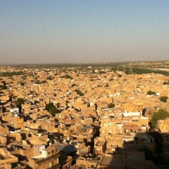 Photo taken at Jaisalmer Fort by Mae L. on 10/28/2012