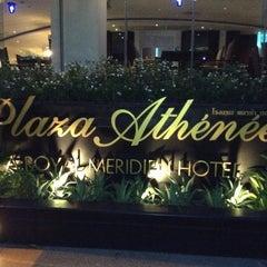 Photo taken at Plaza Athénée Bangkok, A Royal Méridien Hotel by Gilles E. on 3/23/2013