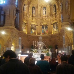 Photo taken at St. Francis Xavier Catholic Church by Sweet S. on 4/7/2013