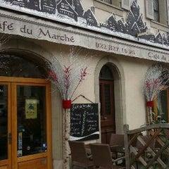 Photo taken at Café du Marché by Yusri Echman on 6/1/2014