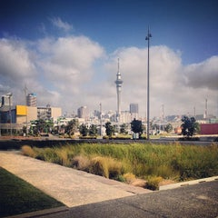 Photo taken at Wynyard Quarter by Stas K. on 1/8/2013
