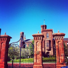 Photo taken at Smithsonian Institution Building (The Castle) by Isa L. on 10/11/2012