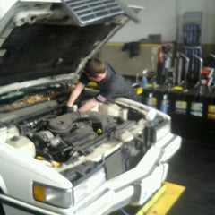 Photo taken at Jiffy Lube Oil Change Center by Don T. on 1/9/2013