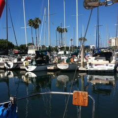 Photo taken at Marina Del Rey pier by Sarah S. on 8/18/2014