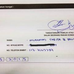 Photo taken at Menara Suruhanjaya Syarikat Malaysia (SSM) by Kimi F. on 5/19/2015