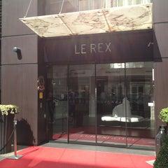 Photo taken at Le Rex Hôtel by Romain F. on 7/25/2013