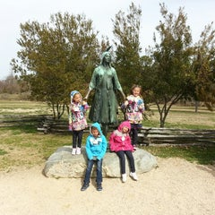 Photo taken at Historic Jamestowne by Rob K. on 4/4/2013