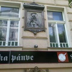 Photo taken at U Básníka pánve by ILYA on 9/8/2013