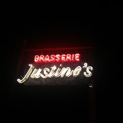 Photo taken at Justine's Brasserie by Nate J. on 5/18/2013