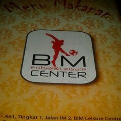 Photo taken at Food Court BIM Futsal Center by Sharifah F. on 5/20/2013