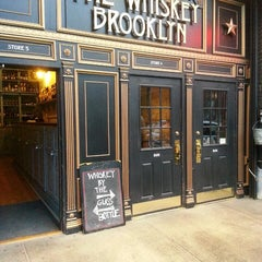 Photo taken at The Whiskey Brooklyn by William C. on 10/3/2013