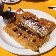 Photo taken at The Waffle by Kelly B. on 6/23/2013