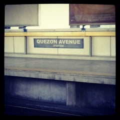 Photo taken at Yellow Line - Quezon Avenue Station by Lian B. on 11/18/2012
