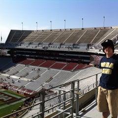 Photo taken at Bryant-Denny Stadium by Shelley F. on 4/21/2013