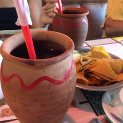 Photo taken at La Parilla Mexican Restaurant by Thirsty J. on 5/6/2015