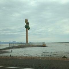 Photo taken at Metaphor: The Tree Of Utah by Sean M. on 7/11/2013