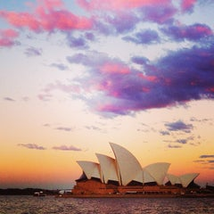 Photo taken at Sydney Opera House by Julia T. on 4/22/2013