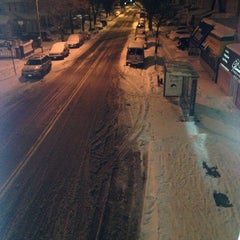Photo taken at MTA Subway - 111th St/Greenwood Ave (A) by Barry B. on 1/22/2014