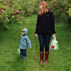 Photo taken at Adams Apple Orchard and Farm Market by Brian M. on 9/14/2013