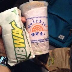 Photo taken at Subway by Nikki C. on 5/25/2015