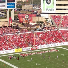 Photo taken at Raymond James Stadium by 🌸Heather P. on 11/25/2012