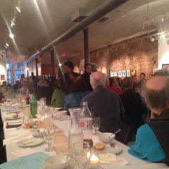 Photo taken at Clover Cafe And Art Gallery by Brownstone Living NYC on 2/15/2015