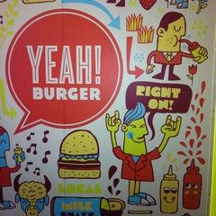 Photo taken at YEAH! Burger by Cristian on 7/15/2013