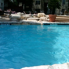 Photo taken at Gables at the Terrace Pool by Joanna L. on 4/29/2012