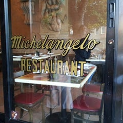 Photo taken at Michelangelo Caffe by Melissa S. on 6/15/2013