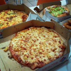 Photo taken at Domino's Pizza by Amira A. on 3/29/2013