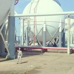 Photo taken at PEMEX Petroquímica Morelos by Antonio M. on 8/28/2014
