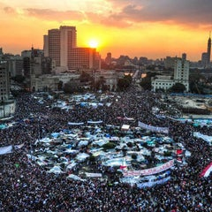 Photo taken at Tahrir Square   ميدان التحرير by Hany F. on 10/21/2012